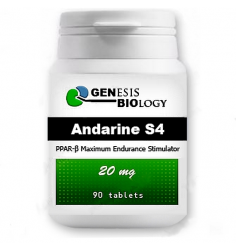 Andarine S-4 - 20 mg, 90 tablet - Genesis Biology