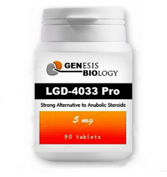 LGD-4033 Pro - 5 mg, 90 tablet - Genesis Biology