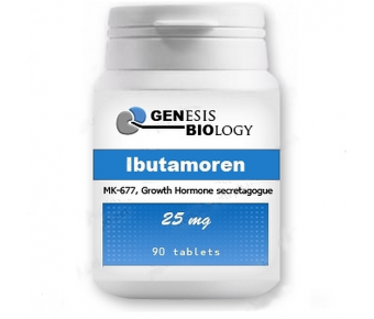 Ibutamoren MK-677 - 25 mg, 90 tablet - Genesis Biology