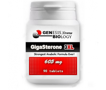 GigaSterone 3XL - 605 mg, 90 tablet - Genesis Biology