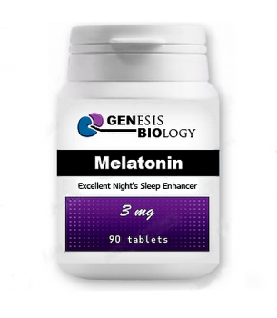 Melatonin-3-mg-90-tablet-Genesis-Biology